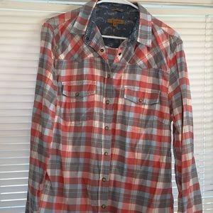 Jachs Girfriend Plaid Flannel Shirt